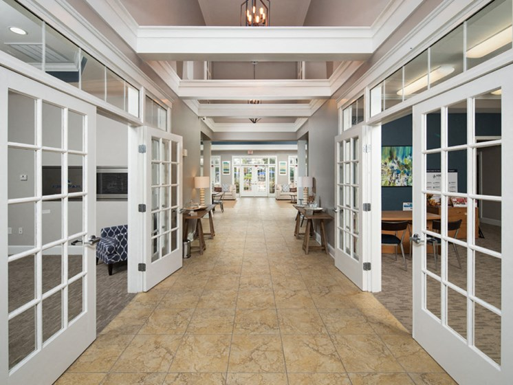 Well Maintained Clubhouse at Abberly Pointe Apartment Homes by HHHunt, Beaufort