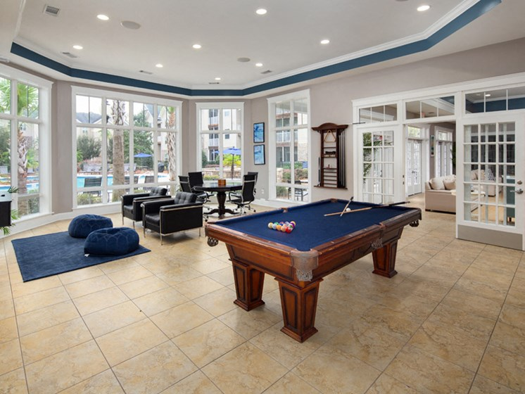 Large Interactive Clubhouse at Abberly Pointe Apartment Homes by HHHunt, Beaufort, 29935