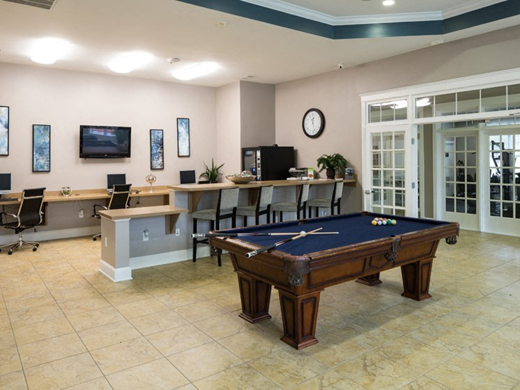 Multipurpose Activity Room at Abberly Pointe Apartment Homes, Beaufort by HHHunt, South Carolina