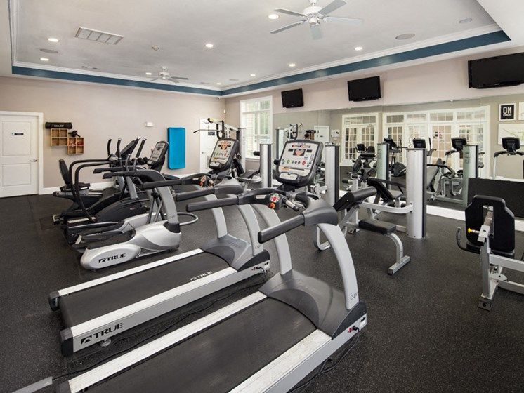 Cardio Studio at Abberly Pointe Apartment Homes by HHHunt, South Carolina, 29935