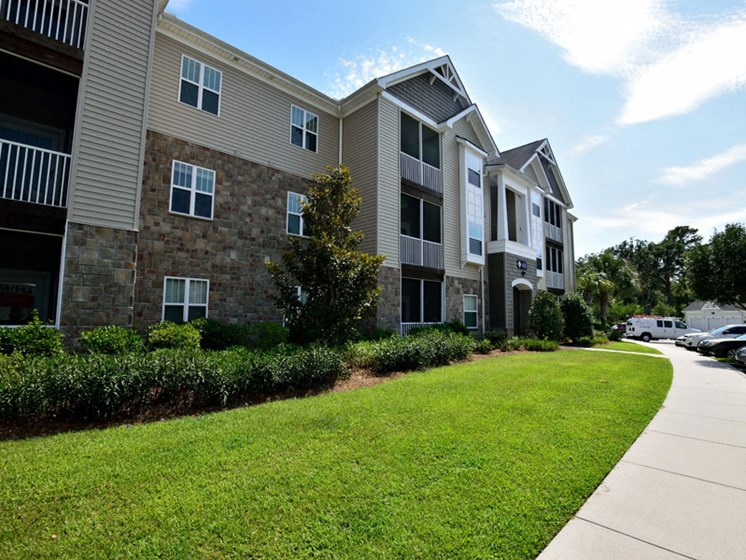 Ample and Open Play Area at Abberly Pointe Apartment Homes by HHHunt, South Carolina