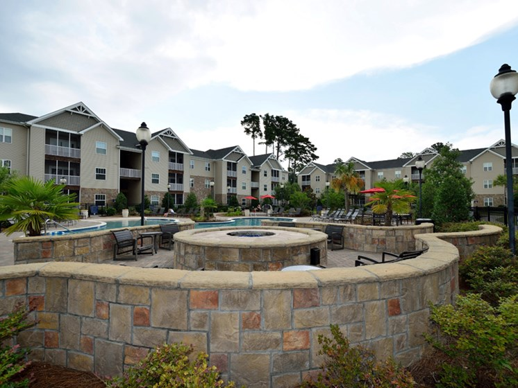 Mesmerizing Landscape Architecture at Abberly Pointe Apartment Homes by HHHunt, South Carolina