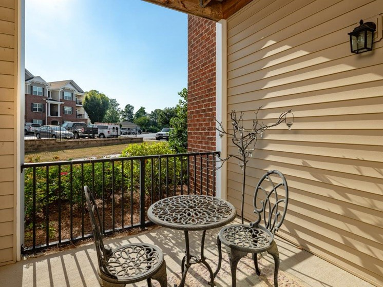 Coffee Table With Comfy Chairs at Abberly Village Apartment Homes by HHHunt, West Columbia, 29169