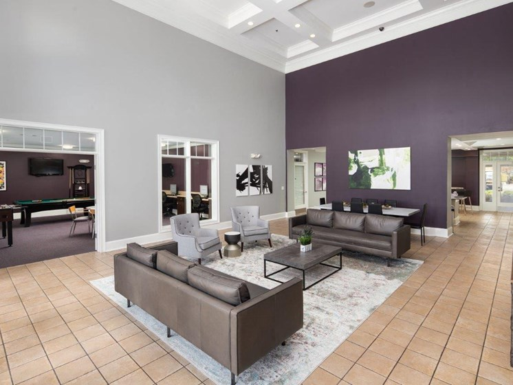 Coffee Bar Attached With Pool Table at Abberly Village Apartment Homes by HHHunt, West Columbia, SC, 29169