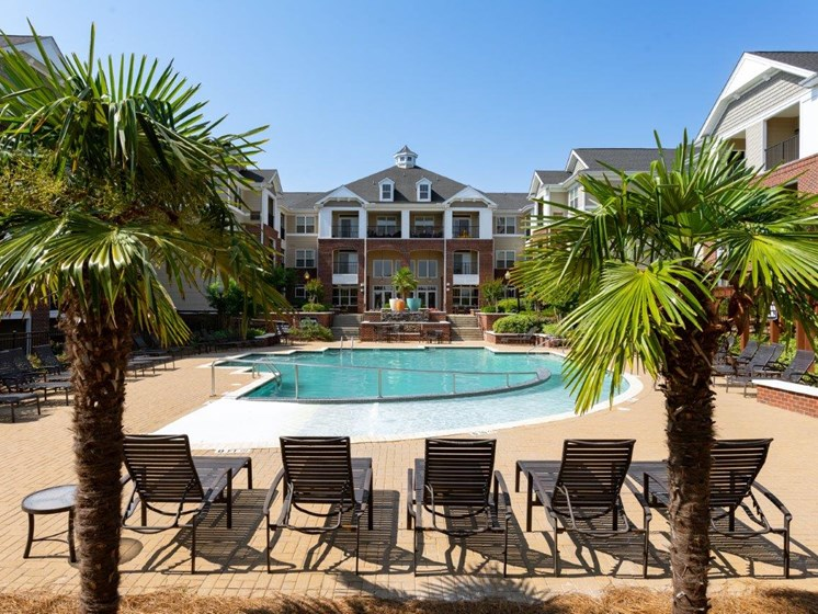Breathtaking Pool View at Abberly Village Apartment Homes by HHHunt, West Columbia, South Carolina