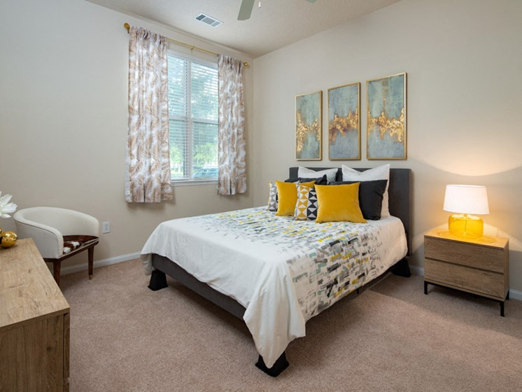 Well Appointed Bedroom at Abberly at West Ashley Apartment Homes by HHHunt, Charleston, SC