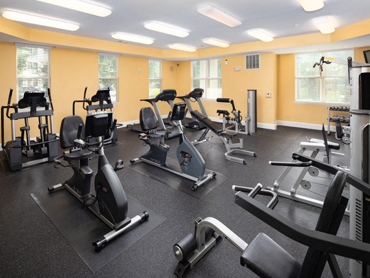 Cardio Studio at Abberly at West Ashley Apartment Homes by HHHunt, Charleston