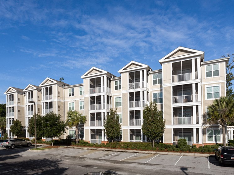 Controlled Access Buildings at Abberly at West Ashley Apartment Homes by HHHunt, Charleston, 29414