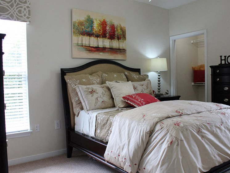 Comfortable Bedroom at Abberly Twin Hickory Apartment Homes by HHHunt, Virginia