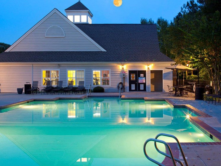Crystal Clear Swimming Pool at Abberly Twin Hickory Apartment Homes by HHHunt, Glen Allen, VA