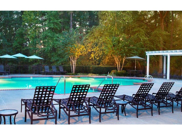 Turquoise Swimming Pool at Abberly Twin Hickory Apartment Homes by HHHunt, Glen Allen, 23059