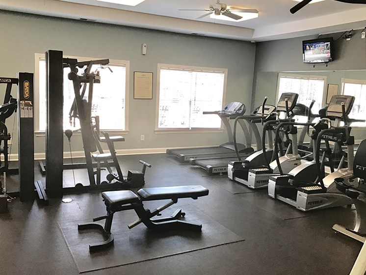 High Endurance Fitness Center at Abberly Twin Hickory Apartment Homes by HHHunt, Glen Allen, Virginia