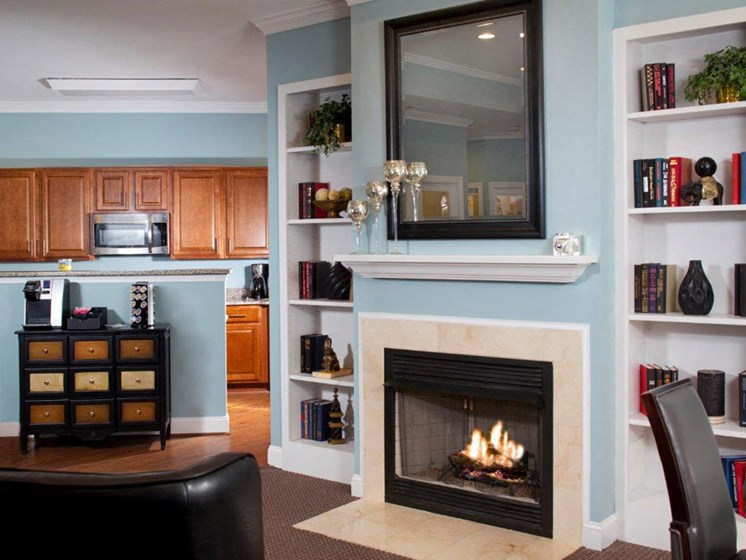 Modern Living Room at Abberly Twin Hickory Apartment Homes by HHHunt, Glen Allen, 23059