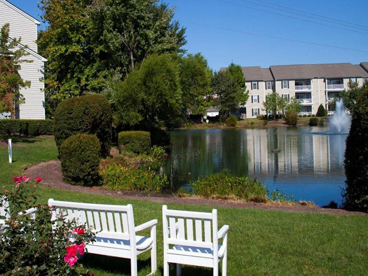 Apartment Living With Refreshing View at Abberly Twin Hickory Apartment Homes by HHHunt, Glen Allen