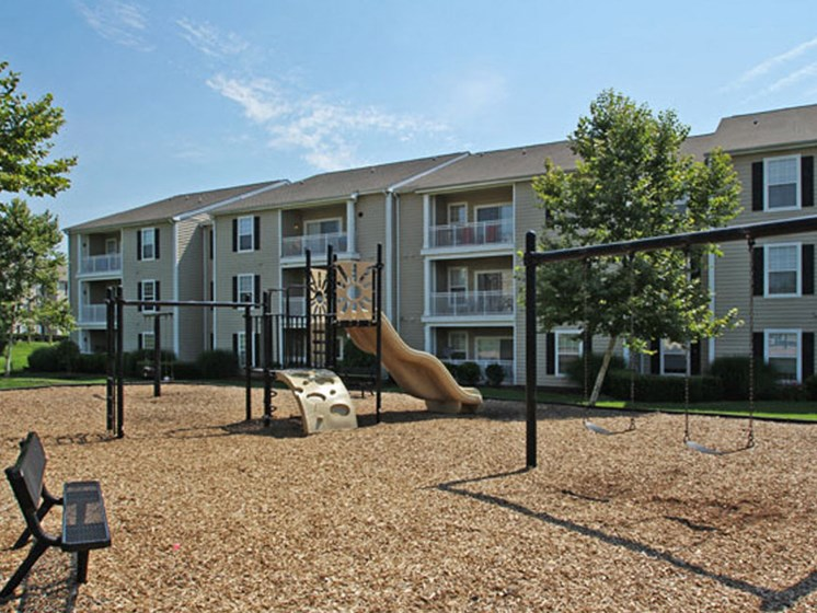 Fun Stop Tot Lot at Abberly Twin Hickory Apartment Homes by HHHunt, Glen Allen, Virginia