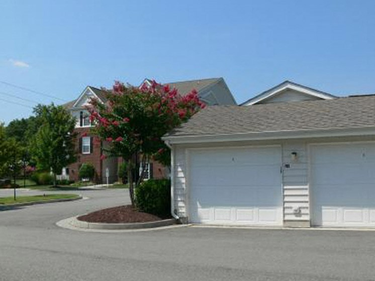 Detached Garages at Abberly Twin Hickory Apartment Homes by HHHunt, Virginia, 23059