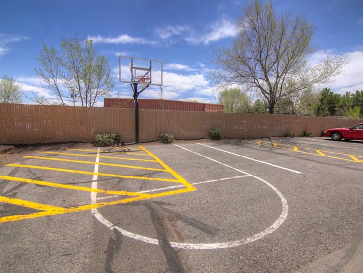 Basketball Goal at Pine View Village Apartments, Flagstaff, AZ,86001