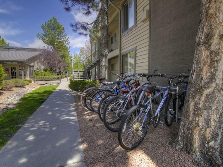 Bicycle Friendly at Pine View Village Apartments, Flagstaff, AZ,86001
