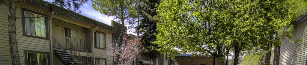 Beautiful backsplash at Pine View Village Apartments, Flagstaff, AZ, 86001