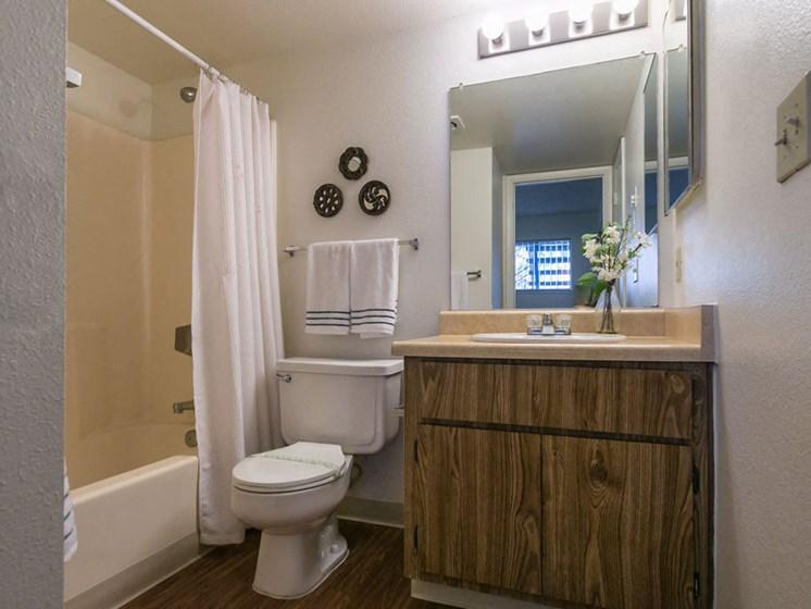Studio Apartment Full Bathroom