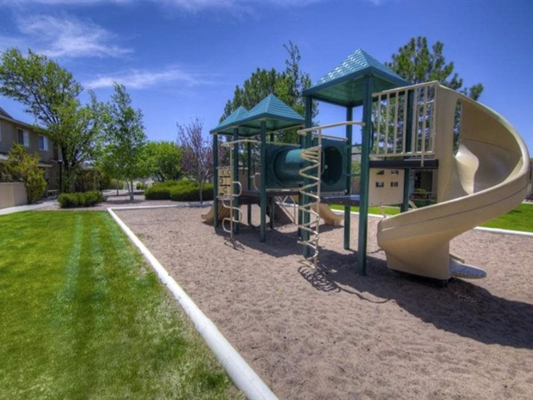 On-site Playground at Country Club Terrace Apartments, Az 86004