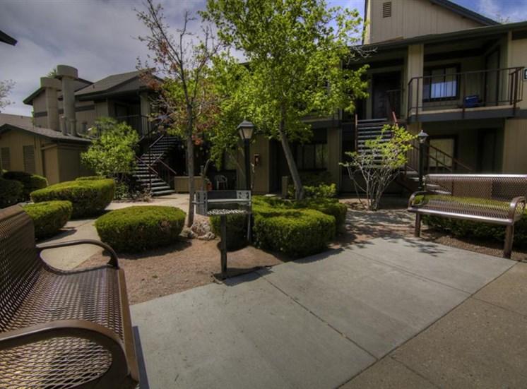 Beautiful Outdoor Space University Square Apartments, Flagstaff, AZ,86001