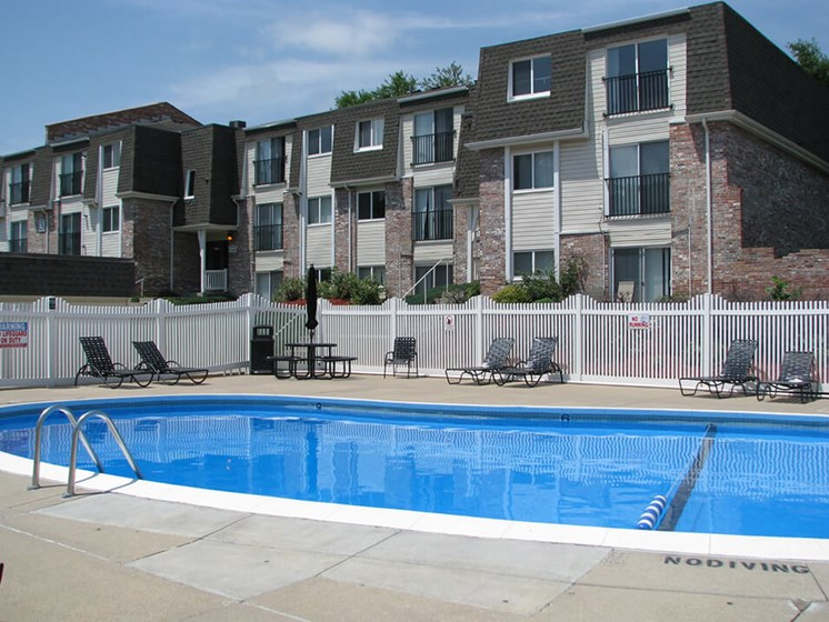 Swimming pool at West Haven Apartments