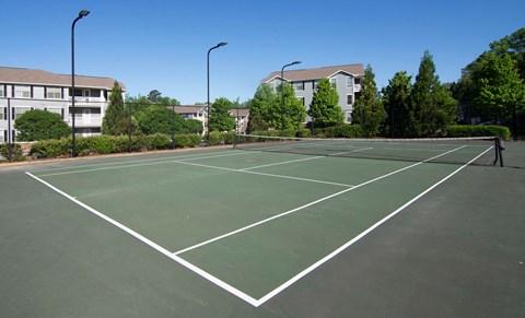 Overlook at Gwinnett Stadium tennis court