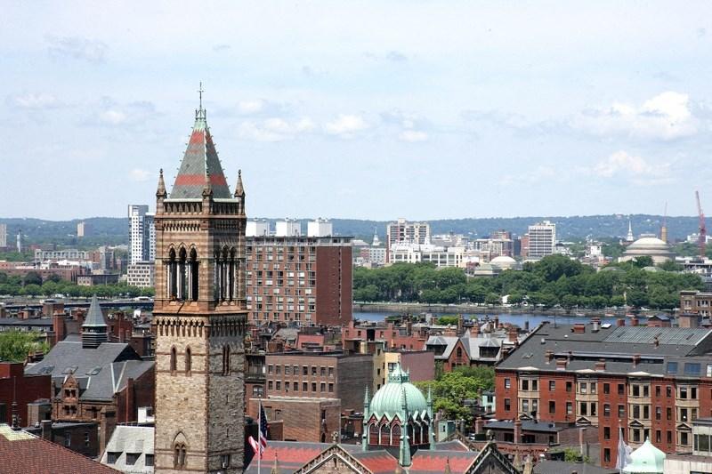 Skyline view of Boston