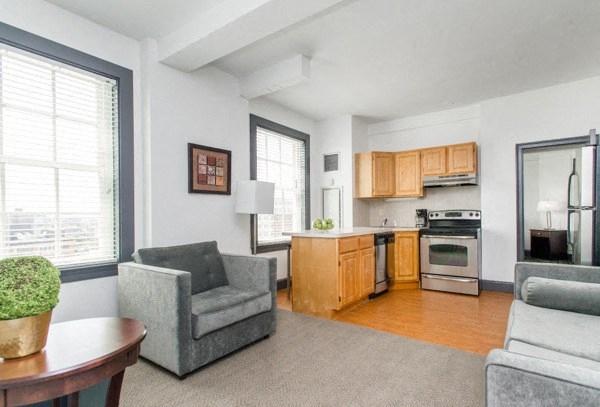 Apartment rentals in Boston - one bedroom.