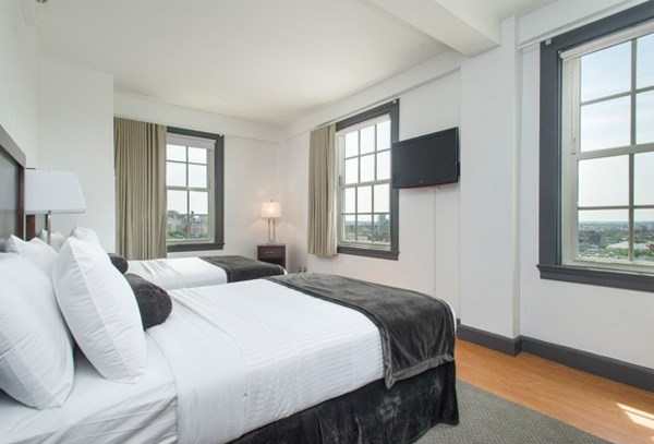 Double rooms, furnished apartment rentals in Boston.