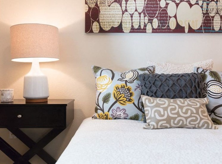 bedroom with nightstand