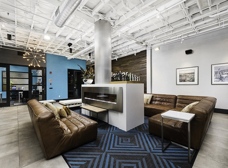 apartment resident lounge