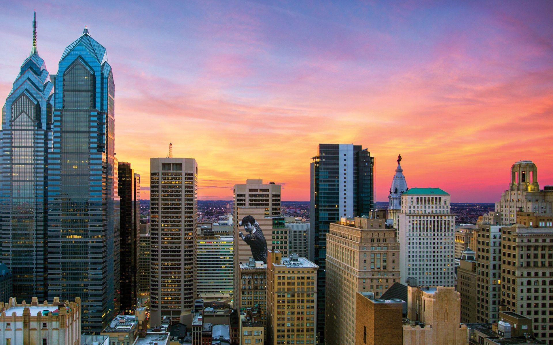 1500 Locust luxury apartment neighborhood skyline