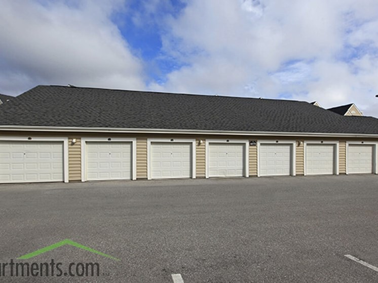 Universally Attached And Detached Garages at Abberly Crest Apartment Homes, HHHunt, Maryland