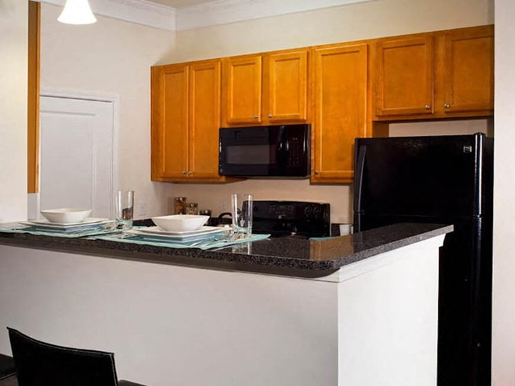 Island Kitchen at Abberly Crest Apartment Homes, HHHunt, Maryland, 20653