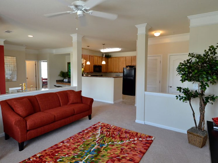Modern Living Room at Abberly Crest Apartment Homes, HHHunt, Lexington Park, 20653