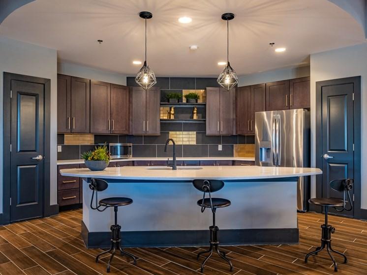 Community Kitchen at Foxridge Apartment Homes, Blacksburg, VA