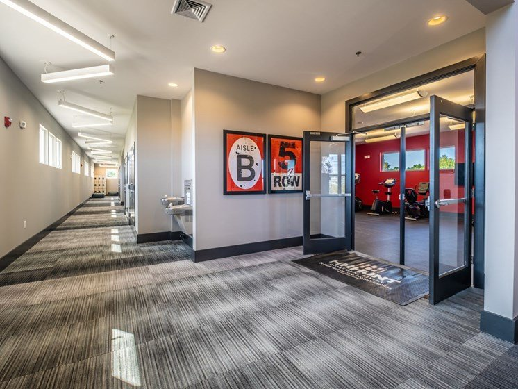 Fitness Center at Foxridge Apartment Homes, Blacksburg, 24060