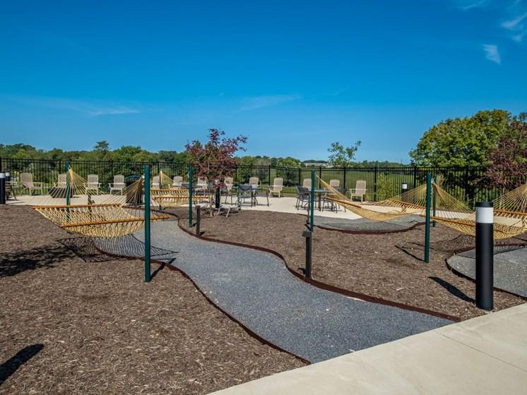 Outdoor Pathways at Foxridge Apartment Homes, Blacksburg, VA