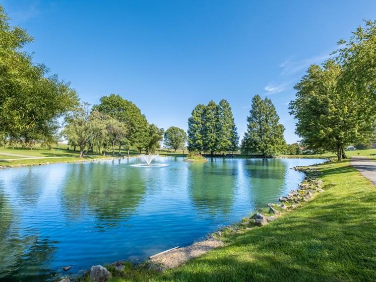 Lake view2 at Foxridge Apartment Homes, Virginia