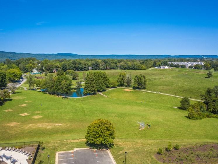 Open Land area at Foxridge Apartment Homes, Blacksburg, 24060