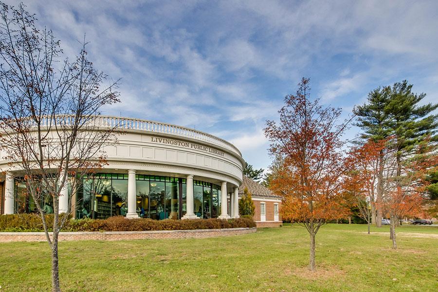 Livingston Public Library at The Hillside Club, Livingston, NJ, 07039