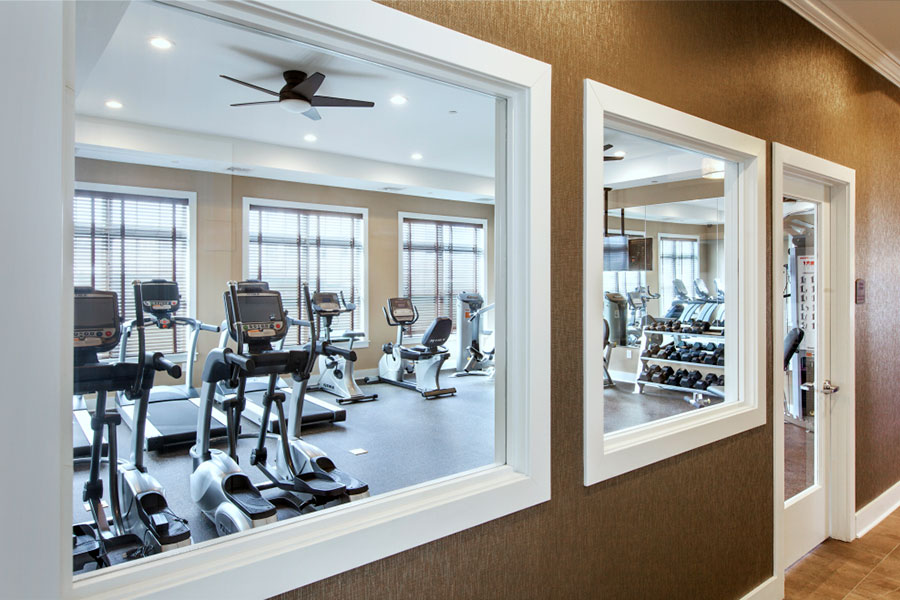 The Clubhouse Fitness Center at The Hillside Club, Livingston, NJ