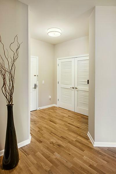 Hallway at The Hillside Club, Livingston