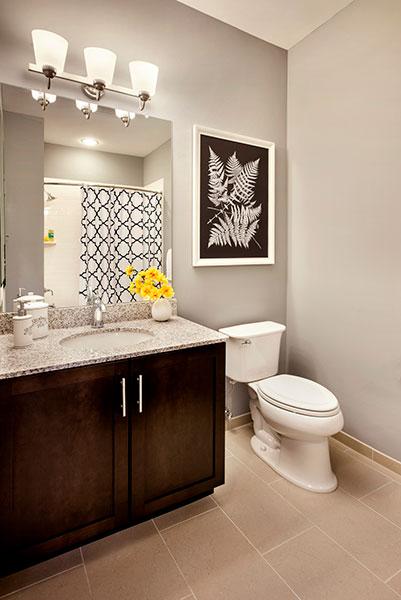 Luxurious Bathroom at The Hillside Club, Livingston, NJ, 07039
