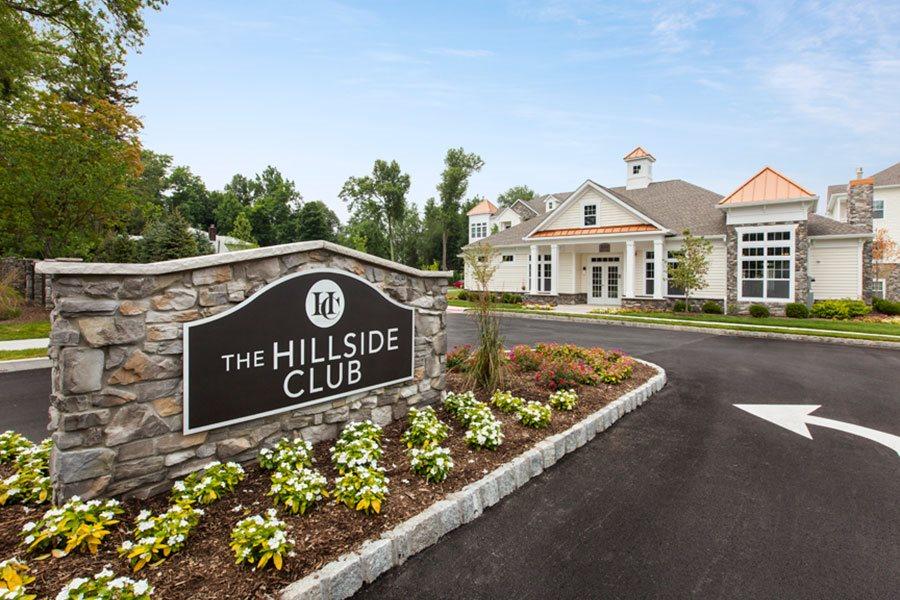 The Hillside Club entrance at The Hillside Club, Livingston, NJ