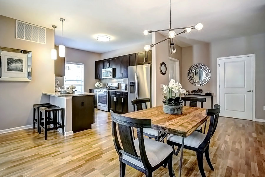 Fully Equipped Kitchens And Dining at The Hillside Club, Livingston