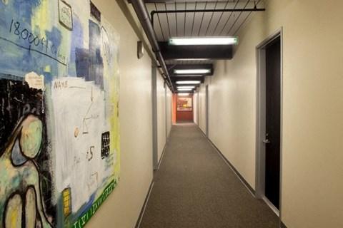 Governors Corner Apartment hallway