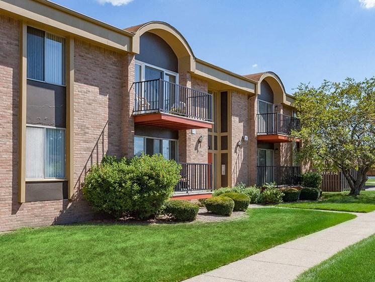Handsome Exteriors Cranbrook Center Apartments,Michigan, 48076